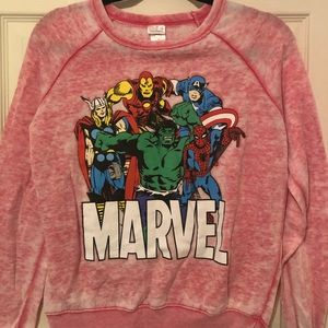 Marvel small long sleeve shirt